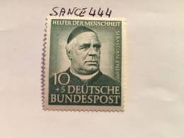 Germany Welfare S. Kneipp Priest 1953 Mnh - Unused Stamps