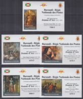 R269. Burundi - MNH - Art - Paintings - Jeanne D'Arc - Deluxe - Autres