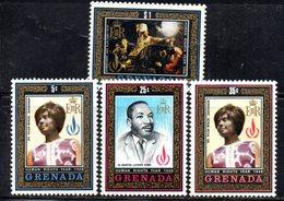 BIG - GRENADA 1969  , Yvert  N. 302/305  ***  MNH (2380A)  DIRITTI - Grenada (...-1974)