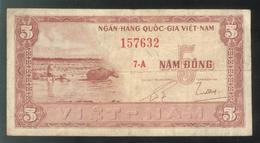 Billet 5 Dong VietNam - Vietnam