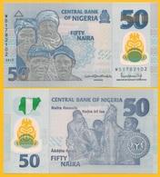 Nigeria 50 Naira P-40 2019 New Signature UNC Polymer Banknote - Nigeria