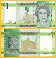 Jersey 1 Pound P-32 2018 UNC Banknote - Jersey