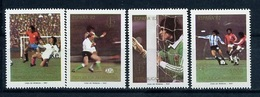 Argentina, World Cup 1982, Philatelic Exibition 1981, 4 Stamps From  S/s Block - 1978 – Argentine