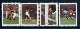 Argentina, World Cup 1982, Philatelic Exibition 1981, 4 Stamps From  S/s Block - Wereldkampioenschap
