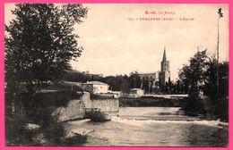 Chalabre - L'Eglise - Ecluse - Rivière - Point De Vue - Edit. LABOUCHE Frères - France