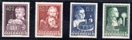 Serie Nº 765/8 Austria - 1945-.... 2ª República