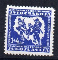 Sello Nº 420 Yugoslavia - 1945-1992 República Federal Socialista De Yugoslavia