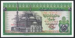 Egypt 20 Pound 1978 XF+++ - Aegypten