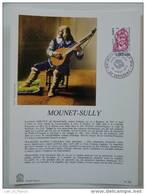 Feuillet Sheetlet FDC N° 225 Monnet Sully Bergerac Dordogne - Teatro