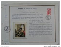 Feuillet OPP De Gaulle Colombey N° 38 - De Gaulle (Général)