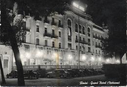 RIMINI-GRAND HOTEL-NOTTURNO-VIAGGIATA 1954  -F.G - Rimini