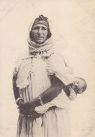 Maroc - Oudjda - Femme Juive Portant Son Enfant - Marocco