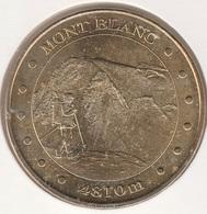 MONNAIE DE PARIS 74 CHAMONIX-MONT-BLANC Aiguille Du Midi - 4810m - L'Alpiniste - 2011 - Monnaie De Paris