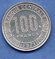 Gabon  -  100 Francs 1971 -  Km # 12   -  état TTB+ - Gabon