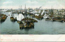ROTTERDAM - RIJNHAVEN. HOLLAND PAISES BAJOS POSTAL POSTCARD CIRCA 1910 NO CIRCULADO NON CIRCULE - LILHU - Rotterdam