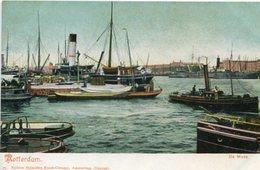 ROTTERDAM - DE MAAS. POSTAL POSTCARD CIRCA 1910 NO CIRCULADO NON CIRCULE - LILHU - Rotterdam