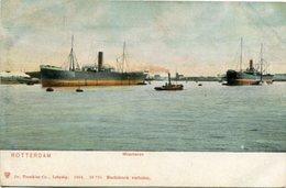 ROTTERDAM - MAASHAVEN. POSTAL POSTCARD CIRCA 1910 NO CIRCULADO NON CIRCULE - LILHU - Rotterdam