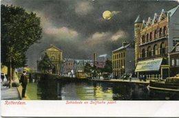ROTTERDAM - SCHIEKADE EN DELFTSCHE POORT. POSTAL POSTCARD CIRCA 1910 NO CIRCULADO NON CIRCULE - LILHU - Rotterdam