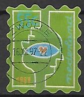 PAYS - BAS    -   1997.   Y&T  N° 1612 Oblitéré. - 1980-... (Beatrix)