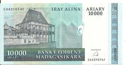 MADAGASCAR 10000 FRANCS ND2006-09 XF+ P 92 B - Madagascar