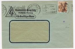 Handstempel-Firmen-Brief Eilenburg, Gepr. - Zone Soviétique