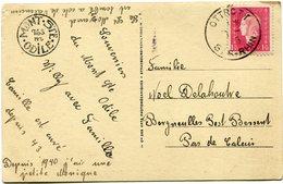 FRANCE CARTE POSTALE DEPART OTTROTT ?-?-45 BAS-RHIN POUR LA FRANCE - 1944-45 Maríanne De Dulac