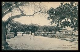 PORTO AMÉLIA - Villa Do Ibo - Largo D. Manuel.( Ed. T. Schwidernoch) Carte Postale - Mozambique