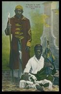 MOÇAMBIQUE - COSTUMES  - O Regulo De Sabié. ( Ed. D. Spanos P. O. Box) Carte Postale - Mozambique