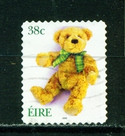 IRELAND  -  2002 Greetings Self Adhesive 38c Used As Scan - 1949-... Republic Of Ireland