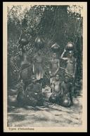 INHAMBANE - COSTUMES - Typos De Inhambane. ( Ed. Oswald Hoffmann) Carte Postale - Mozambique