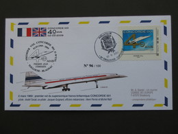 2 MARS 1969 : Premier Vol Du Supersonique Franco- Britanique CONCORDE 001   **** EN ACHAT IMMEDIAT **** - Concorde