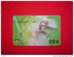 TELECARTE PASSEREL 20 EUROS / ECONOMAT DES ARMEES - Army