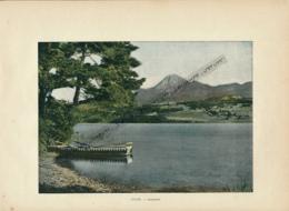 Document (1880) : Autriche, Saakersee, Faker See, Photographie Aquarellée (Aquarelle), Souvenir De Voyage - Österreich