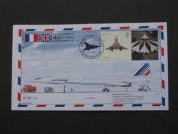 40 TH 69/09  CONCORDE 001- CONCORDE 02 -- N°65/100  **** EN ACHAT IMMEDIAT **** - Concorde