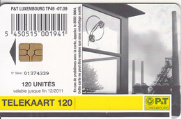 LUXEMBOURG - Post Musee(TP 49), 07/09, Used - Luxembourg