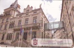 LUXEMBOURG(chip) -  La Chambre Des Deputes(TT 09), 07/09, Used - Landscapes