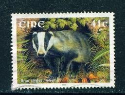 IRELAND  -  2002 Mammals 41c Used As Scan - 1949-... Republic Of Ireland