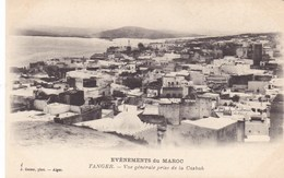 Maroc - Tanger - Vue Générale Prise De La Casbah - Tanger