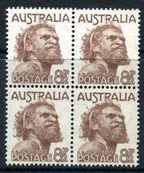 Australia 1950 Aborigine Block Of 4 MNH (SG 238) - Neufs
