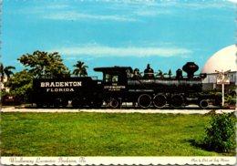 Florida Bradenton Woodburning Locomotive At Waterfront Park - Bradenton