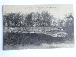 CPA (44) Loire Atlantique - CHEIX En RETZ - Mégalithes : La Pierre Tremblante - Frankrijk