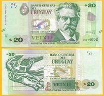 Uruguay 20 Pesos Uruguayos P-86 2015 (Serie G) UNC - Uruguay