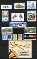 TAAF - 2013 - Année Complète (sans Carnet De Voyage) - Timbres Et Blocs - Neufs N** - Très Beaux - French Southern And Antarctic Territories (TAAF)