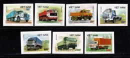 Vietnam 1990 Yv 1031/37**, Mi 2131/37**  Ongetand / Non Dentelé MNH - Viêt-Nam