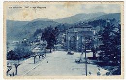 UN SALUTO DA LUINO - LAGO MAGGIORE - VARESE - 1937 - Vedi Retro - Formato Piccolo - Luino