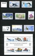 TAAF - 2010 - Année Complète - Timbres Et Blocs - Neufs N** - Très Beaux - Full Years