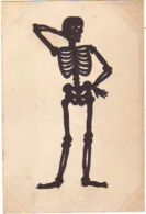 N°12865 - Silhouette - Squelette Du Cabaret Du Néant - Cartes Animées Lambert - Silhouettes