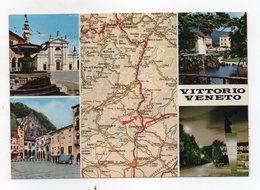 Vittorio Veneto (Treviso) - Cartolina Multipanoramica - Viaggiata Nel 1989 - (FDC16054) - Treviso