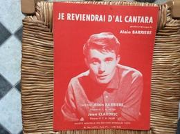 PARTITION MUSICALE *ALAIN BARRIÈRE  Je Reviendrai D'Alcantara - Scores & Partitions