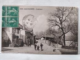 Archamps. RARE. Intérieur Village. Animée. Enfants - France